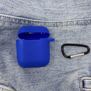Royal Blue Airpods Case w/ Key Ring